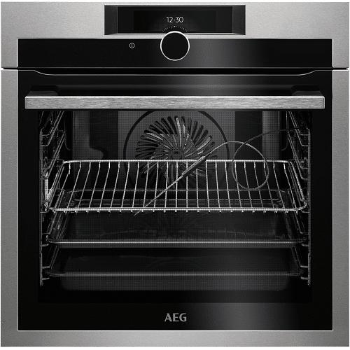 AEG Mastery BPE842720M Single Electric Oven