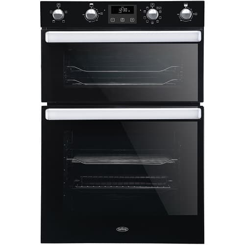 Belling B1902MFCT Eye-Level Double Oven