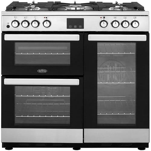 Belling Cookcentre90DFT Dual Fuel Range Cooker
