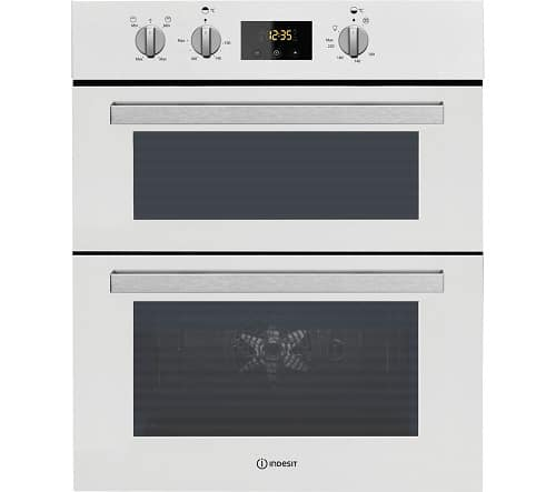 Indesit IDU6340WH Built-Under Double Gas Oven