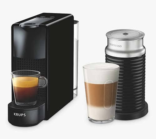 Nespresso Essenza Mini Coffee Machine with Aeroccino