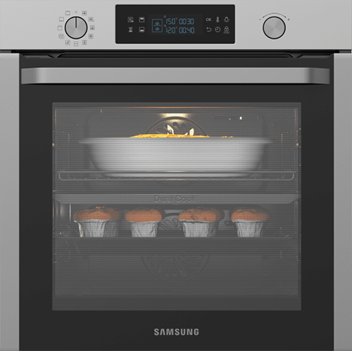 Samsung Dual Cook NV75K5571RS Steam Oven