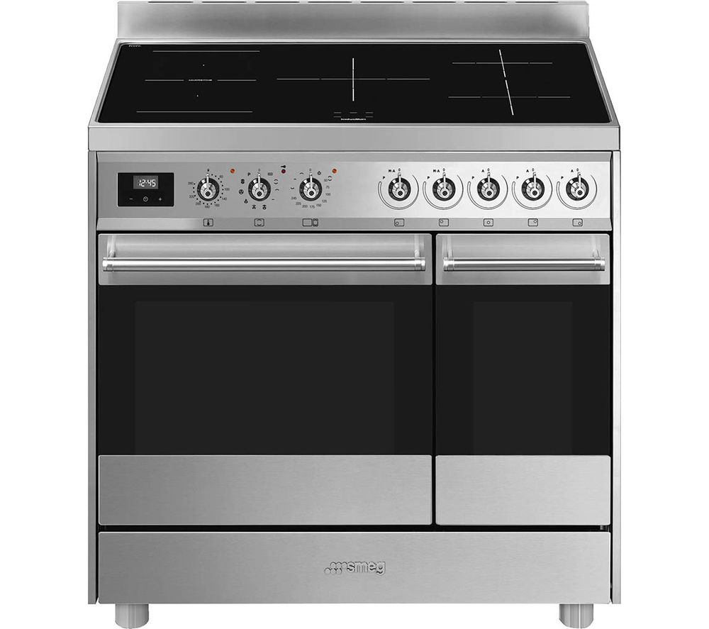 Smeg-classic-C92IPX9-90cm-induction-hob-range-cooker