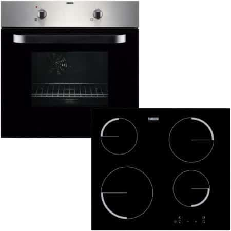 Zanussi ZPVF4130X Single Electric Oven and Hob