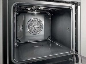 Miele-h2265-1bp-self-cleaning-oven-showing-pyrolytic-enamel-lining